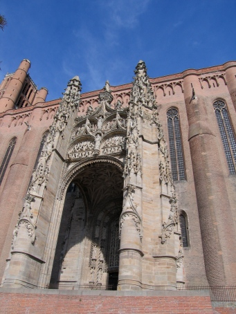 cathedral in albi, france